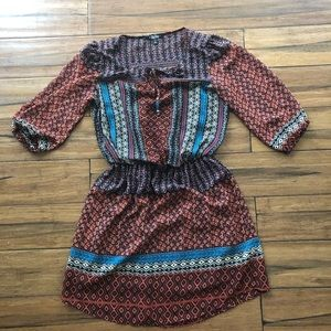 Dresses & Skirts - Size small dress - Aztec with lining